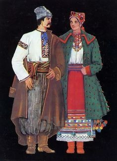 ukraine-traditional costume