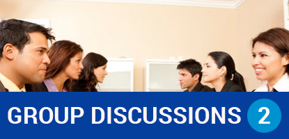 How to discuss a topic in a group Discussion